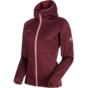 Mammut Get Away ML Hooded Jacket Women merlot melange